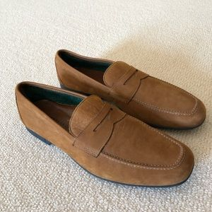 Fratelli Rossetti Men's suede loafers
